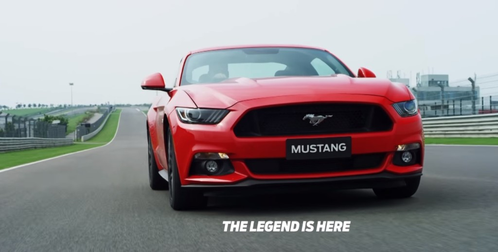 Ford Mustang India TVC