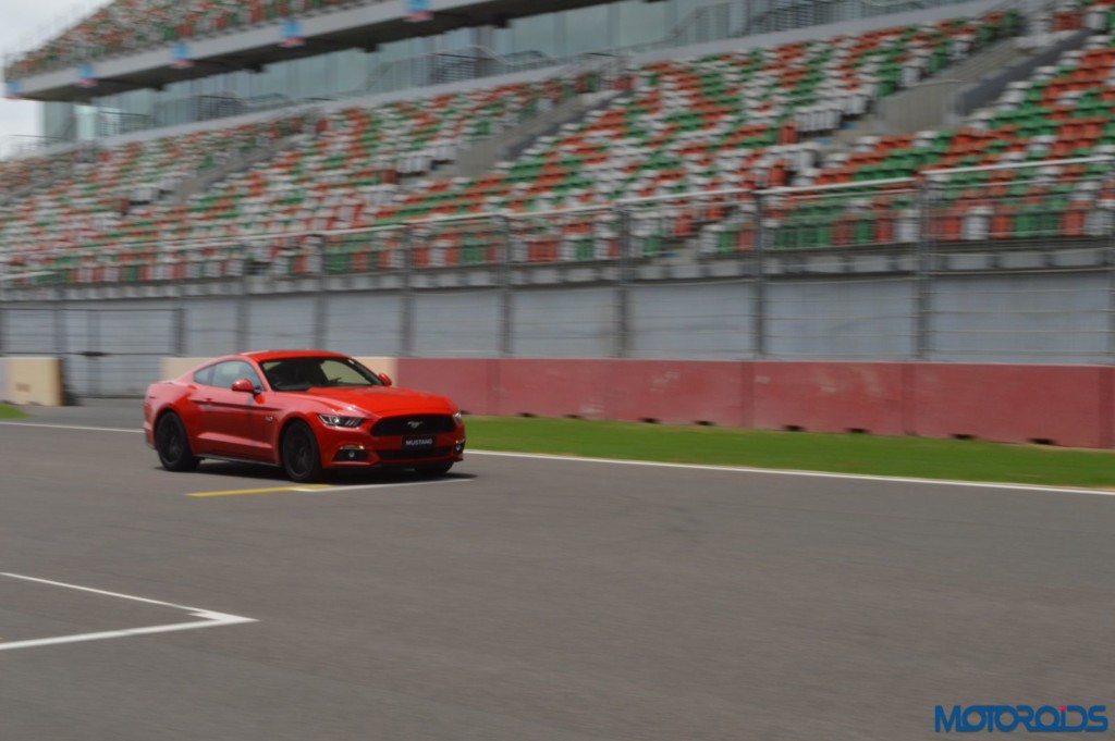 Ford Mustang Track Review India (29)