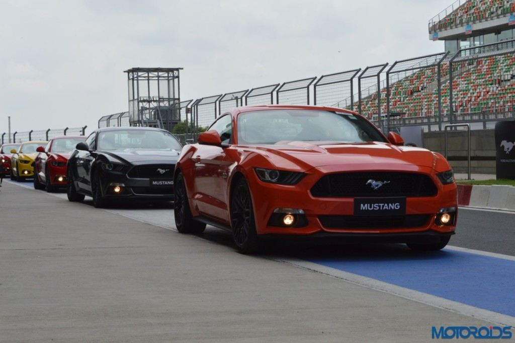 Ford Mustang Track Review India (30)