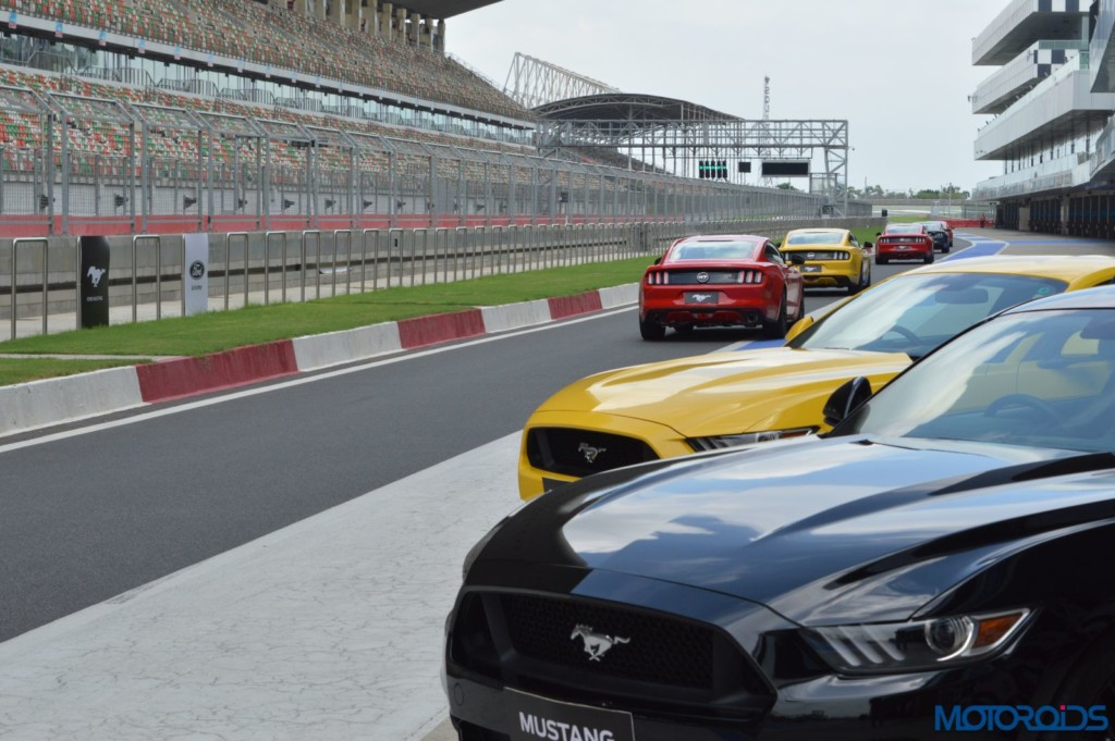 Ford Mustang Track Review India (34)
