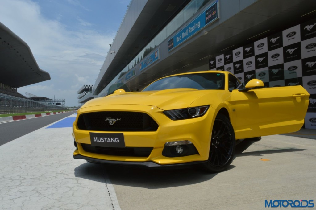 Ford Mustang Track Review India (35)