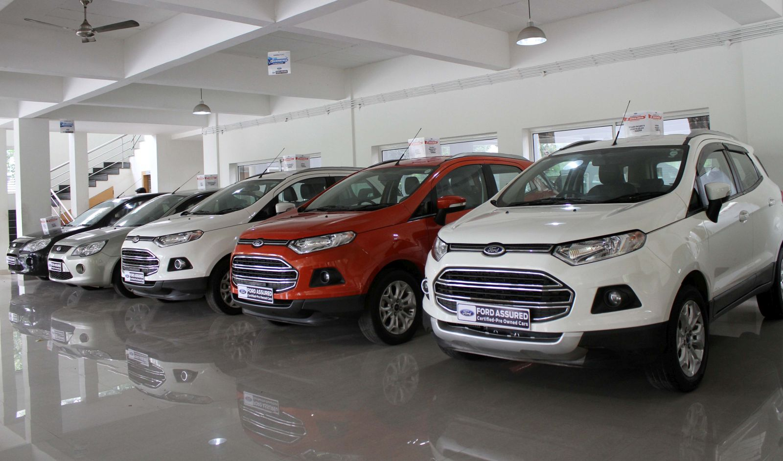Ford assured completes five years in India (2)
