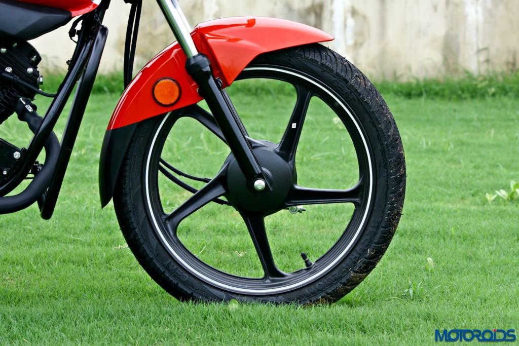 Hero MotoCorp Splendor 110 iSmart front tyre wheel
