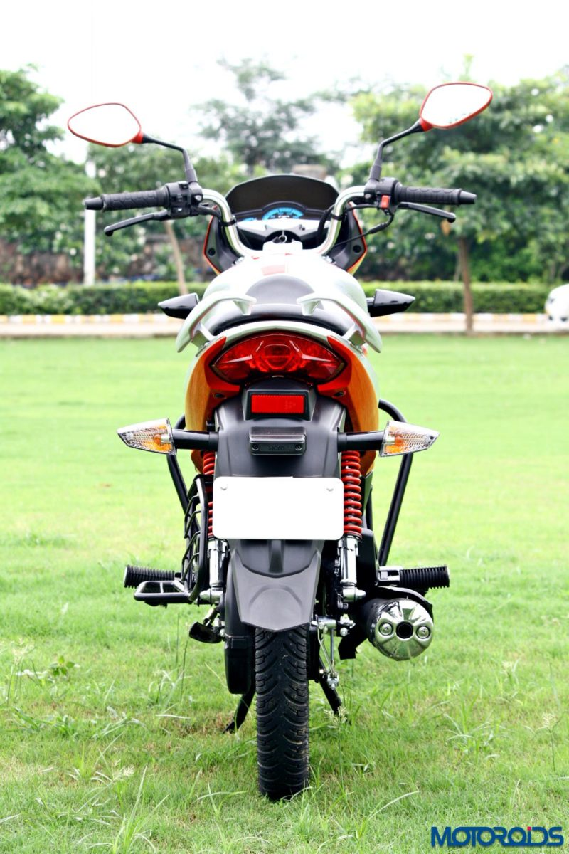 Hero MotoCorp Splendor 110 iSmart rear profile (2)
