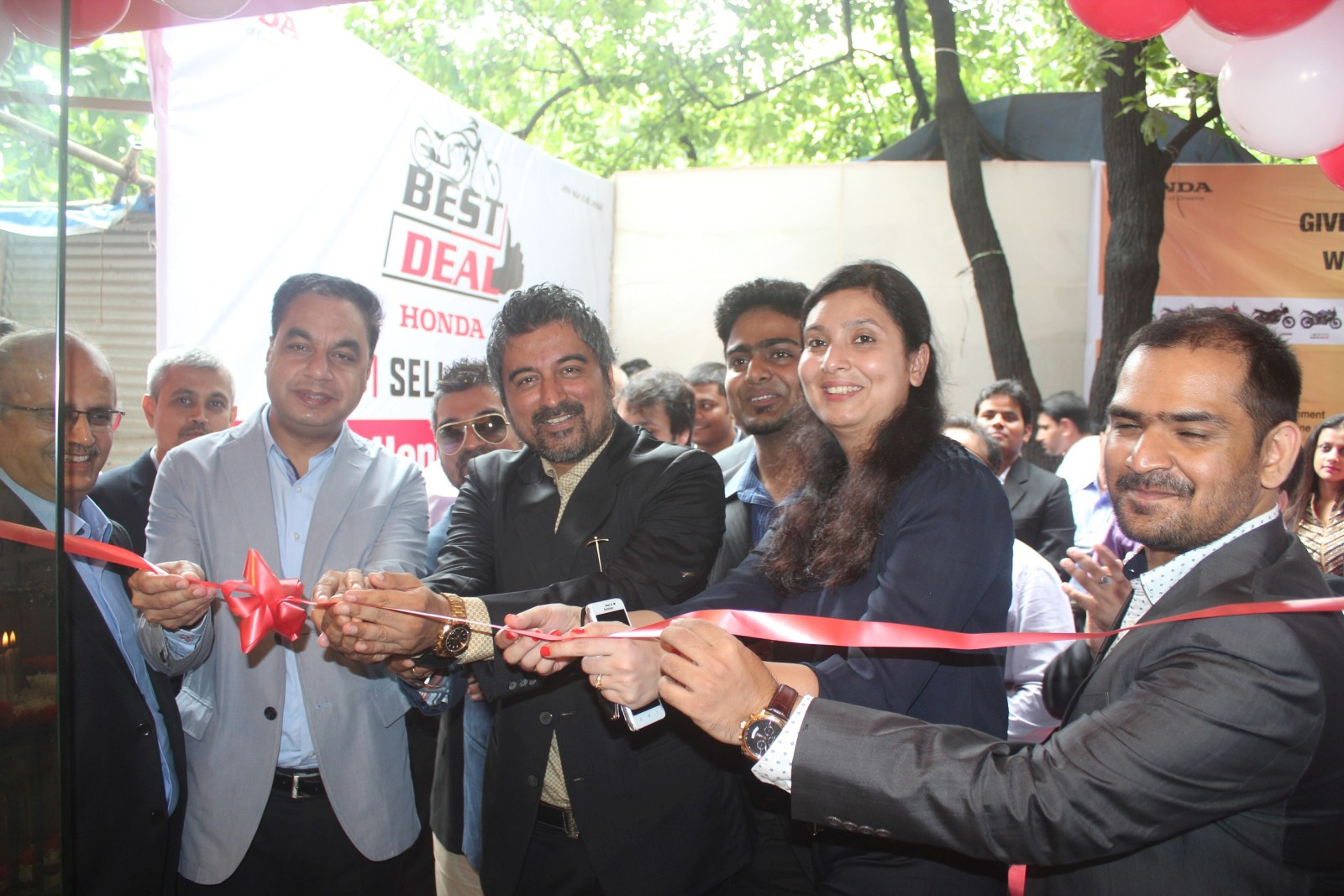 Honda 2Wheeler inaugurates its 100th Best Deal outlet (2)