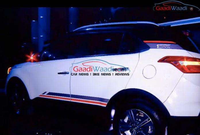 Hyundai Creta anniversary edition spied (2)