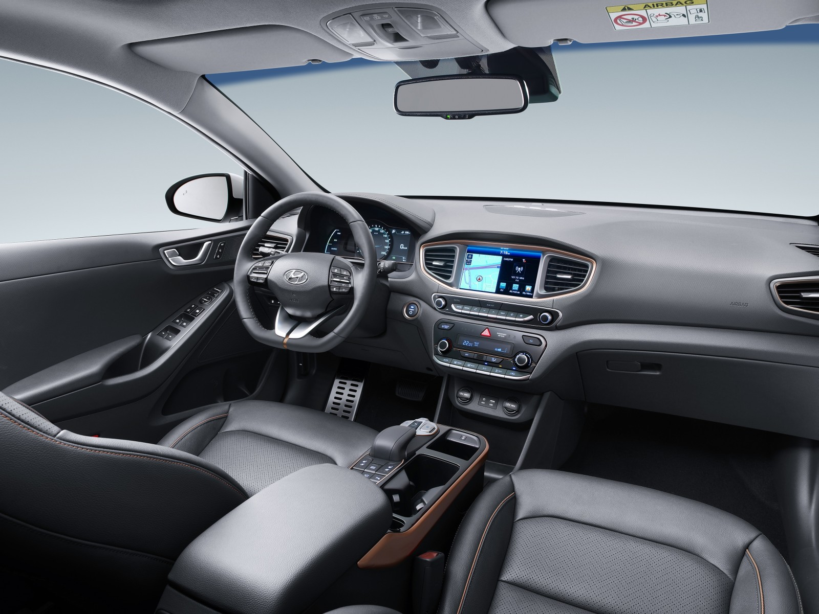Hyundai IONIQ - electric - interior