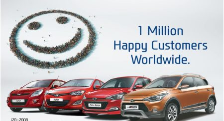 Hyundai i20 1 million global sales