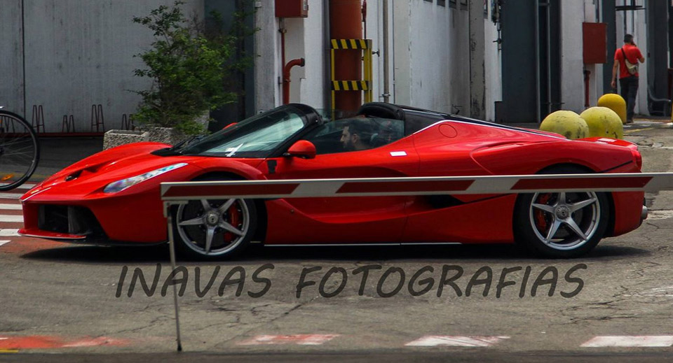 LaFerrari Spider spotted