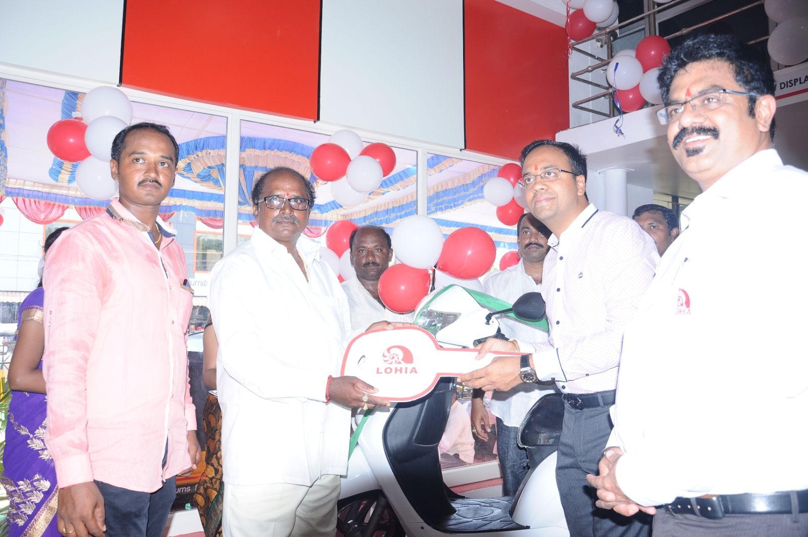 Lohia Auto opens one of the largest electric vehicles dealership in Nellore