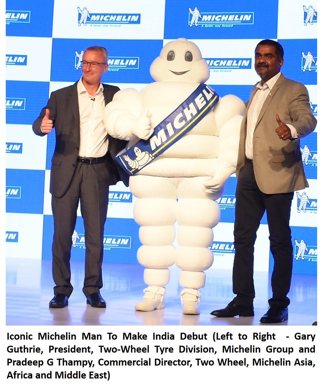 Michelin Man To Make India Debut