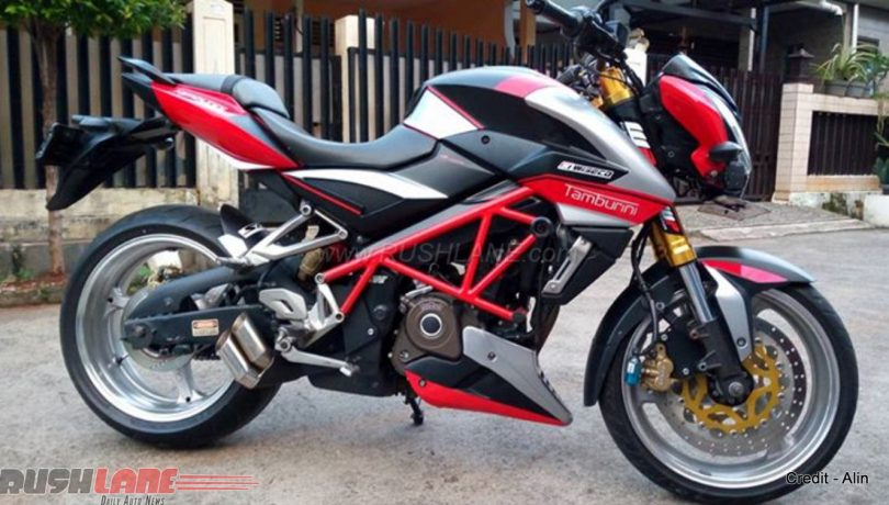 Modified Pulsar 200 NS