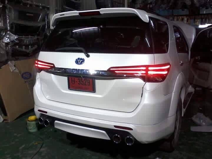 Modified Toyota Fortuner face swap (1)