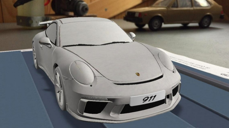 New Porsche 911 GT3 facelift (1)