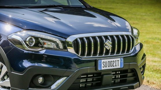 New S-Cross grille