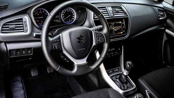 New Suzuki S-Cross interior