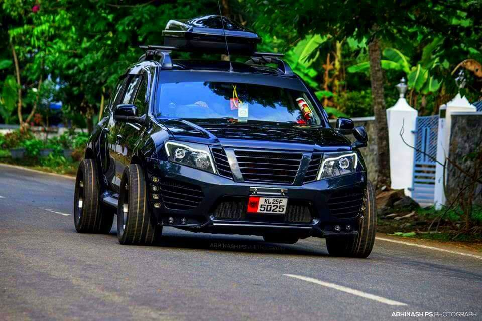 Honda Hrv 2016 Modified >> Customised all-black Nissan Terrano, christened 'The Bull', is a petrol head's fantasy | Motoroids