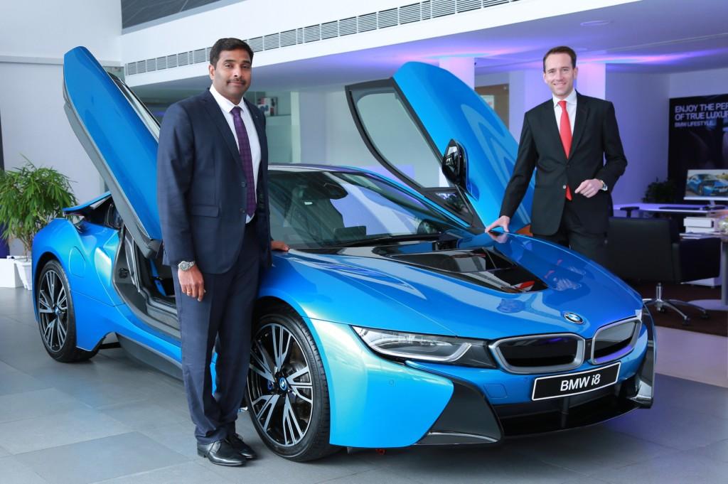 Photo 01 (R-L) Mr. Schloeder, (Act.) President, BMW Group India and Mr. Sabu, MD, EVM Autokraft