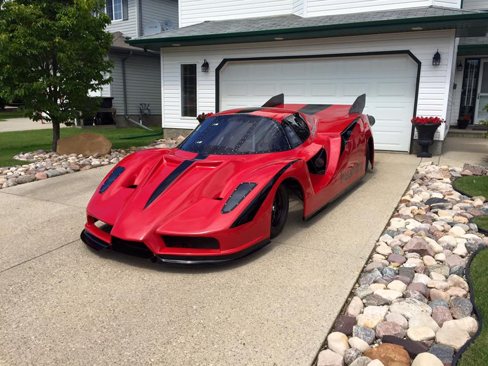 Project Insanity- Ferrari Enzo replica (10)
