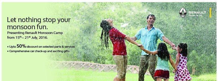 Renault India monsoon camp