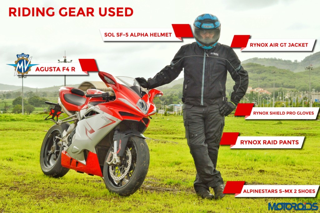 Riding Gear MV Agusta F4
