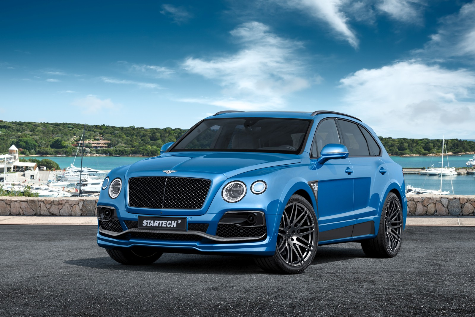STARTECH further refined the Bentley Bentayga (1)