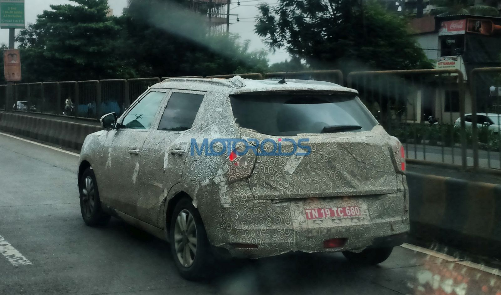 Ssangyong Tivoli spied yet again (3)