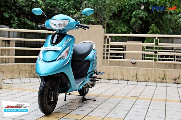 TVS Scooty Zest 110 Motoroids Get on the Road (10)