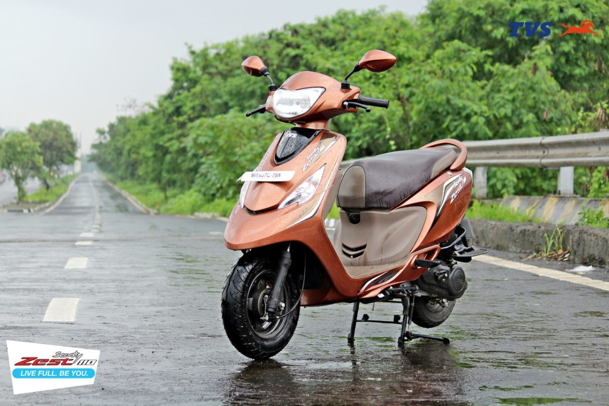TVS Scooty Zest 110 Motoroids Get on the Road (20)
