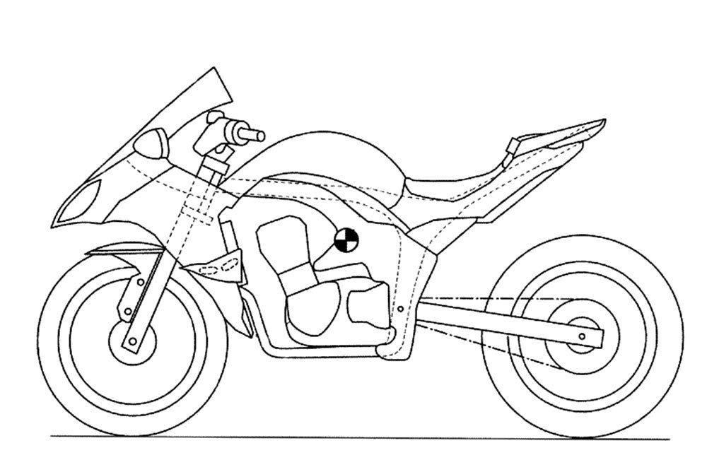 Upcoming Kawasaki Sports Tourer - Patent Drawing