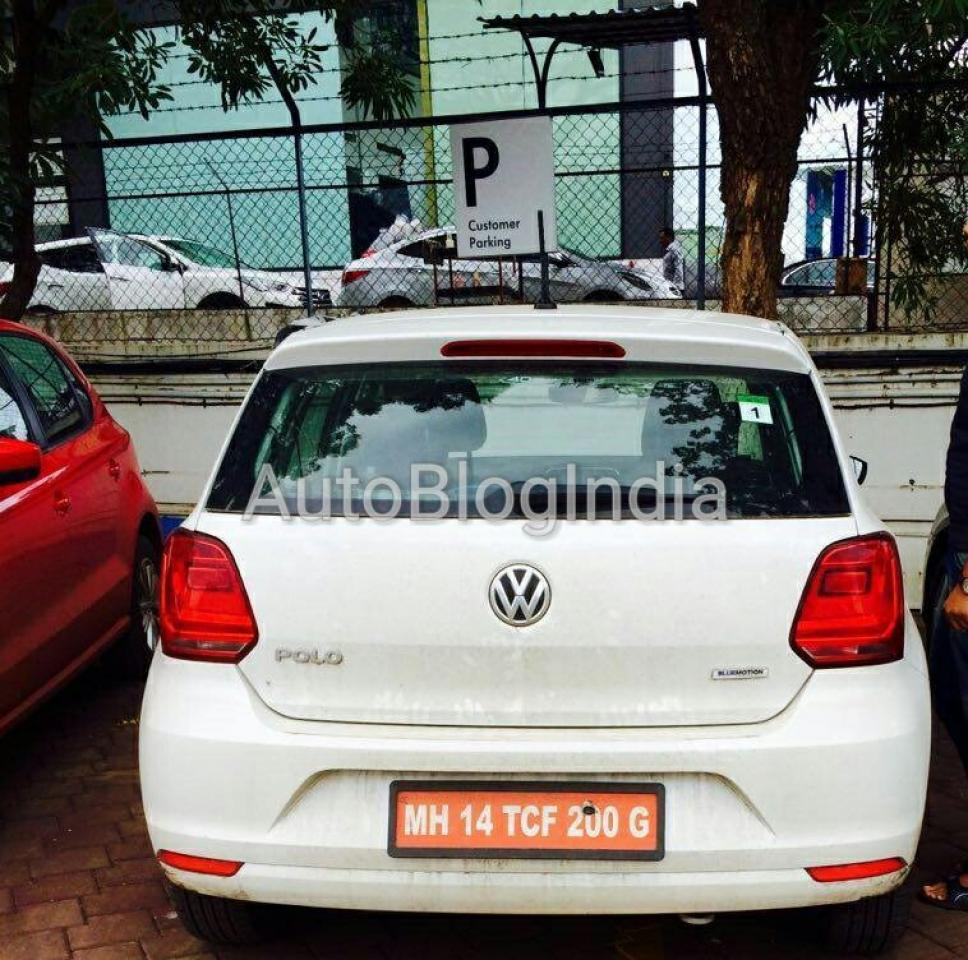 Spied: Volkswagen Polo 1.4 TSI Spotted During A Public