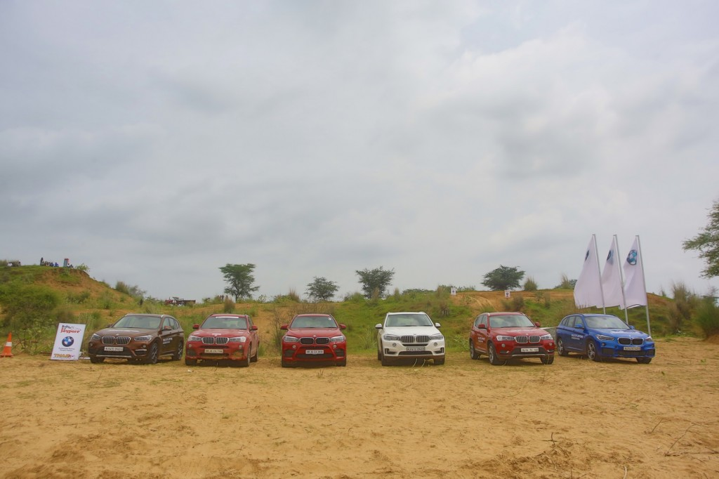 01.Exclusive Super Speciality Stage with BMW X range Sports Activity Vehicles at Rally of Jaypore 2016