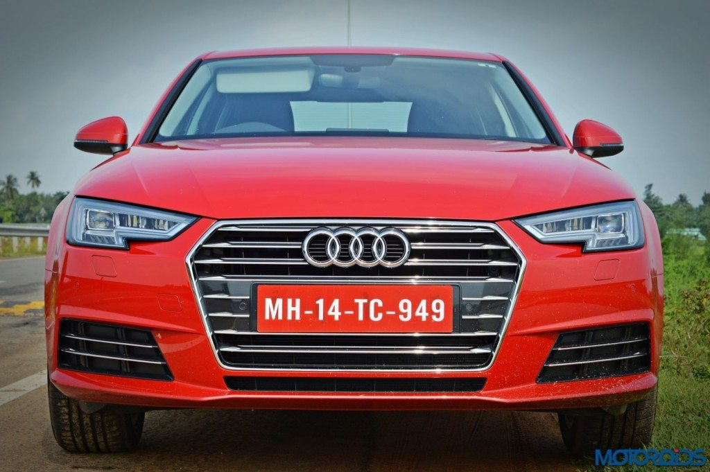 2016 Audi A4 Head on view (32)