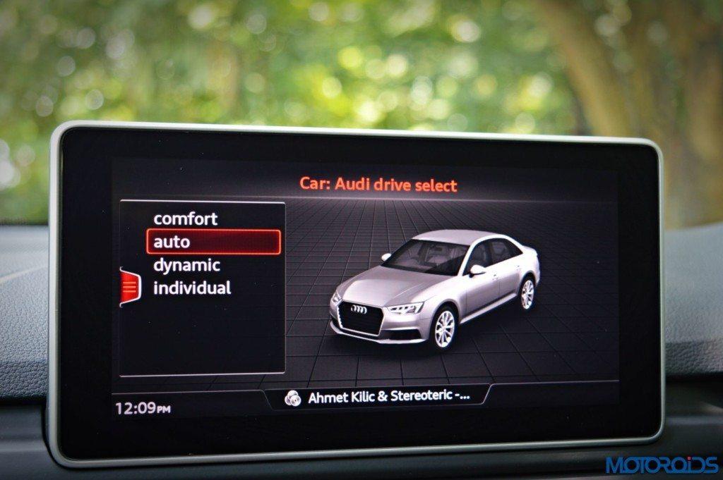 2016 Audi A4 MMI Screen(152)