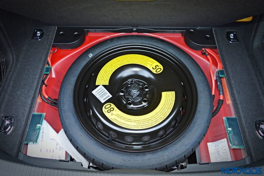 2016 Audi A4 Space saver spare wheel(39)