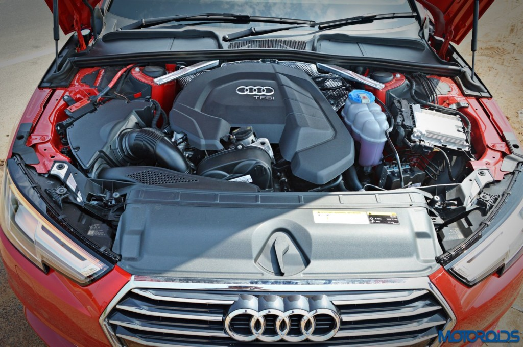 2016 Audi A4 engine bay(100)