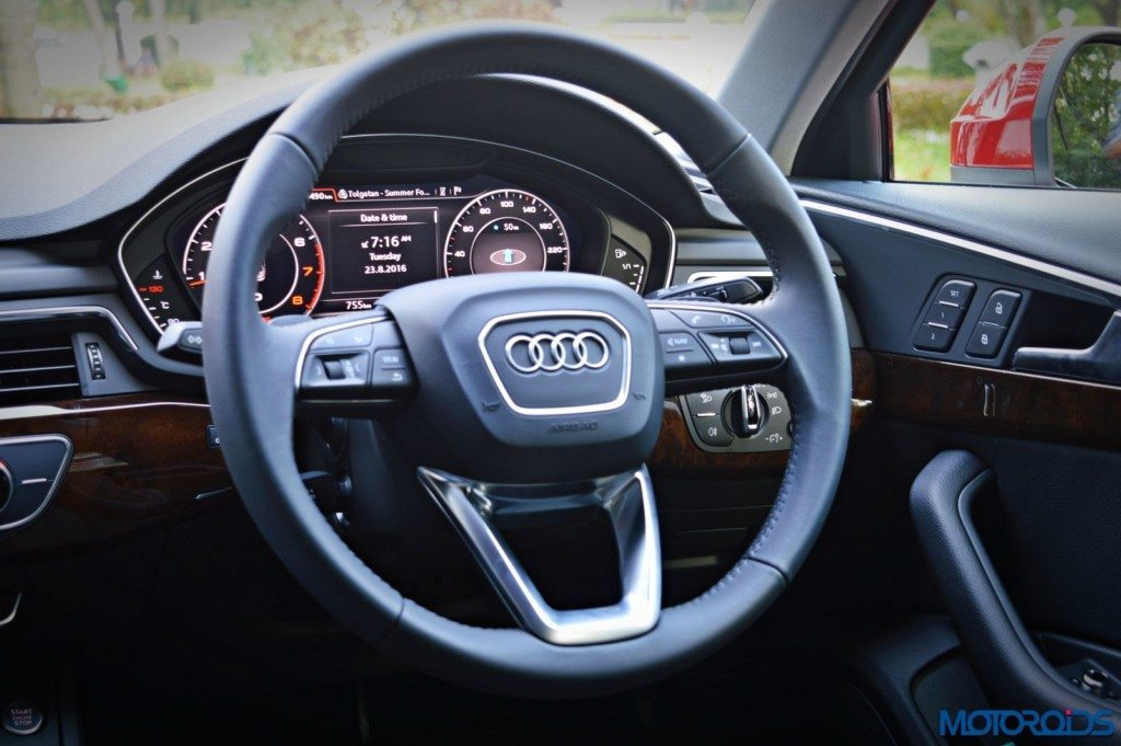 2016 Audi A4 steering wheel(163)
