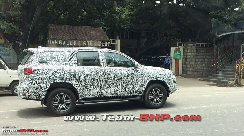 2016 Toyota Fortuner spied once again (1)