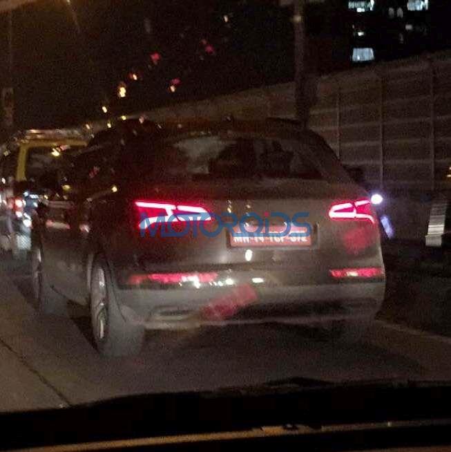 2017 Audi Q5 spied in India (1)
