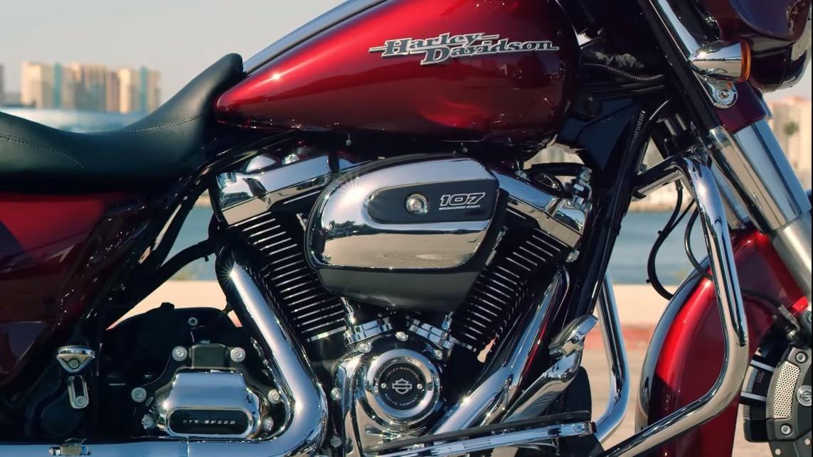 2017- Harley Davidson -Milwaukee-Eight engine