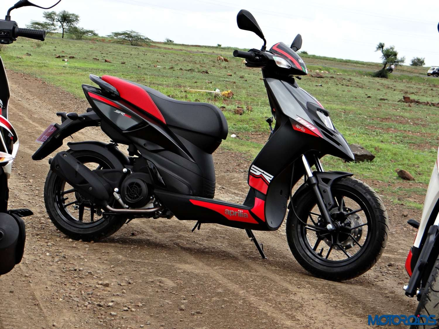 Aprilia SR 150 Review - Still Shots (2)