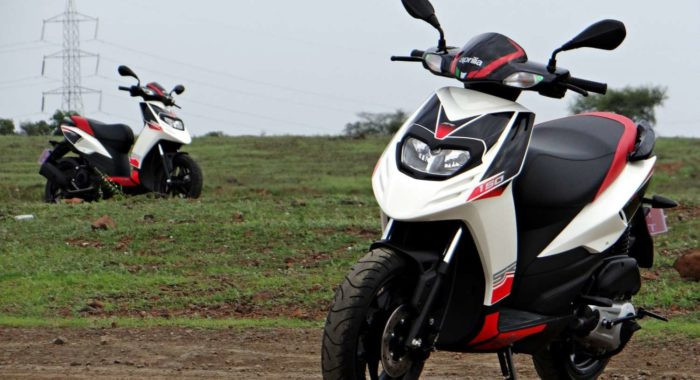 Upcoming Aprilia SR Scooter to be peppier, to be launched ...