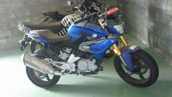 BMW G 310 R spied in production form (4)