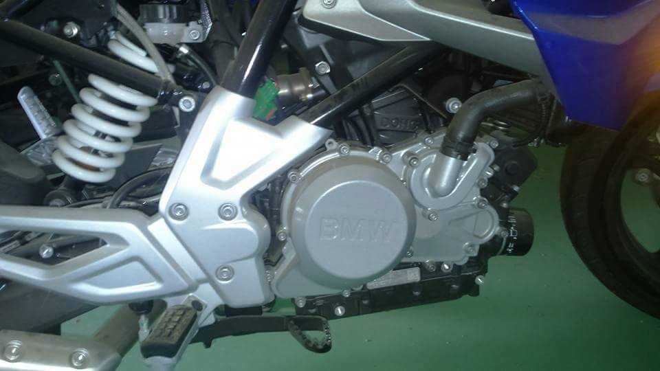 BMW G 310 R spied in production form (5)