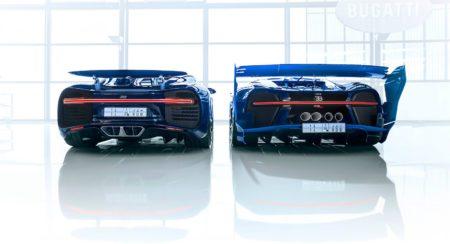 Bugatti Chiron Show Car And Vision GT Concept (5)