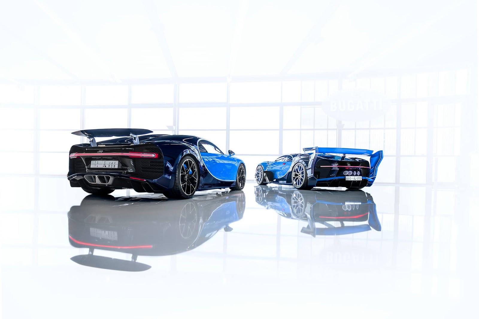 Bugatti Chiron Show Car And Vision GT Concept (7)