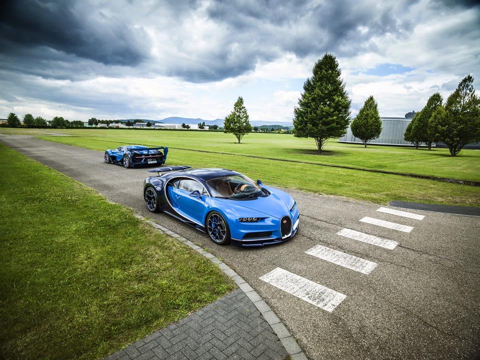 Bugatti Chiron Show Car And Vision GT Concept (8)