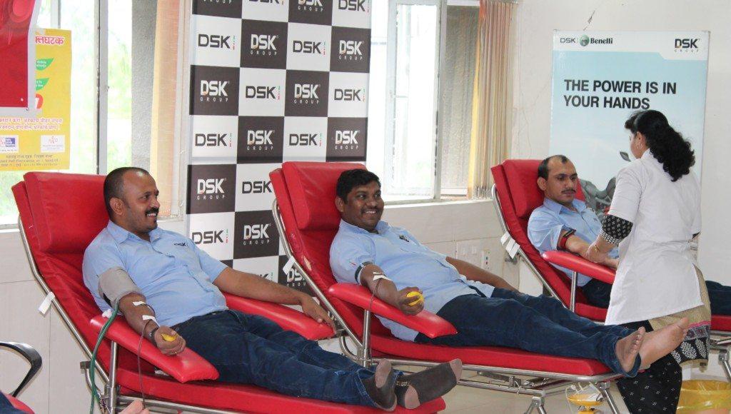 DSK Motowheels - Blood Donation
