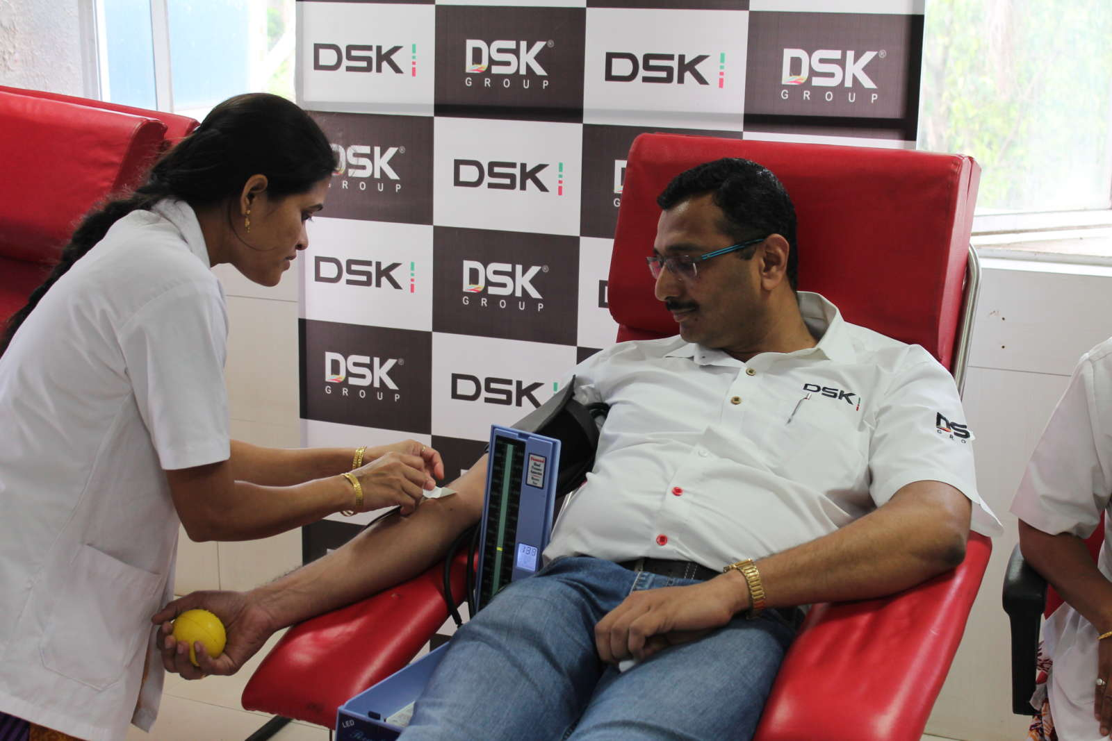 DSK Motowheels - Blood Donation.