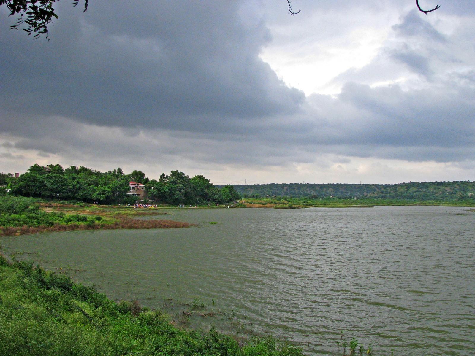 Damdama Lake - TVS Road Trip